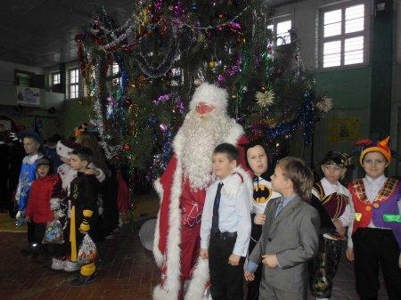 Новый год в начальной школе