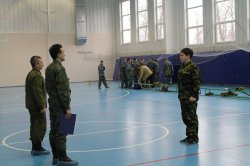 Районная военно-спортивная игра «А ну-ка, парни»