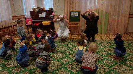 """Мероприятие по здоровьюсбережению в группе №11 """"Сказка"""", воспитатель О.Е. Игнатенко"""