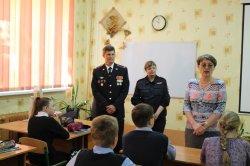 О мужестве и героизме школьникам рассказали участники боевых действий