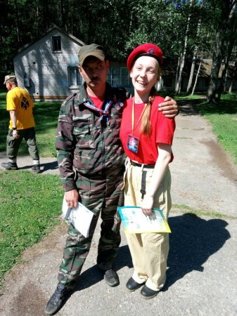 Областной военно-патриотический слёт «Идём в разведку»