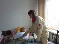 Не забываем наших ветеранов